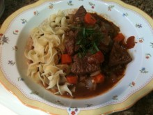 H's Beef Stew Plate 2