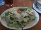 Ceaser Salad at Pomodoro