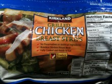COSTCO Grilled Chicken Strips