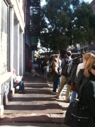 Line at 2pm