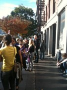 Line behind us at 230pm