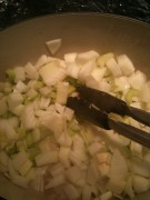 Sauteed Onion Celery and Garlic 2