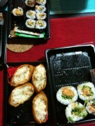 Sushi from Nijiya